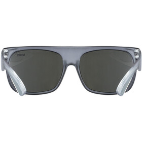 UVEX Sportstyle 511 Glasses Kids, grey transparent/litemirror silver